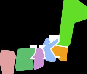 リフナビ®エリア 日本地図